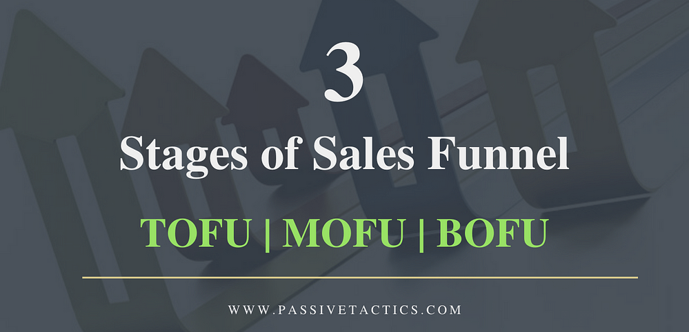 3 Stages of Sales Funnel