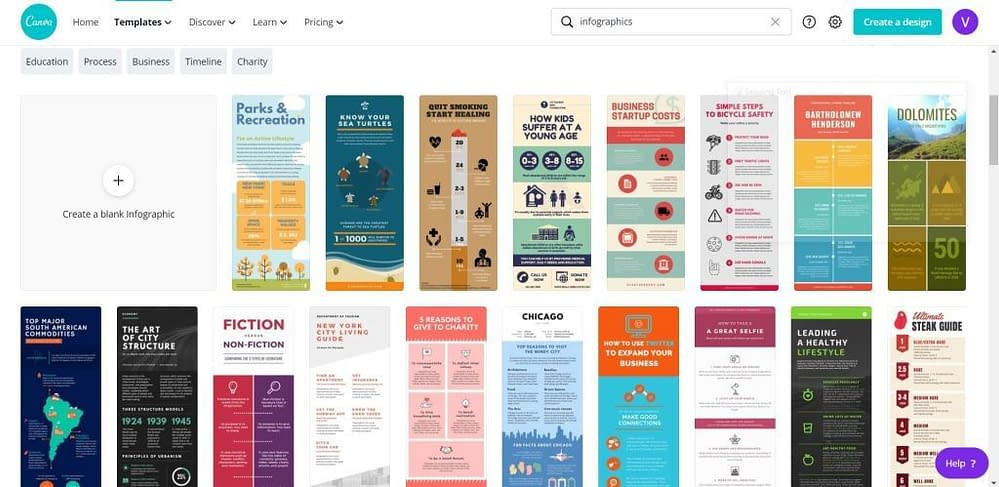 Canva for Nonprofits Infographics Templates