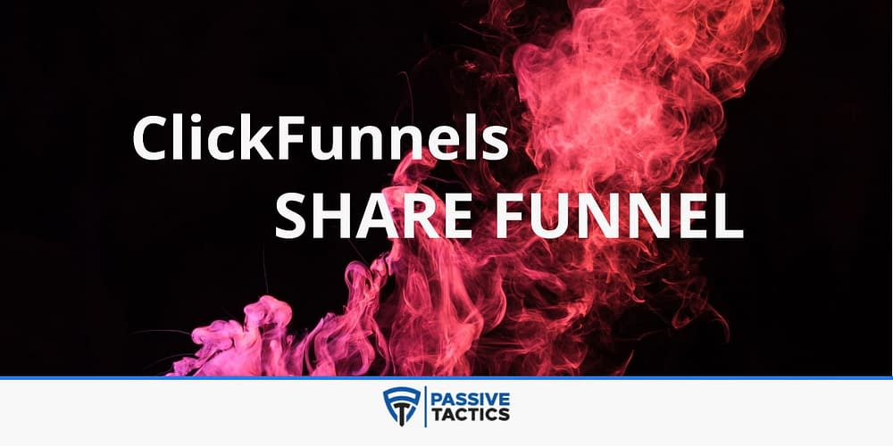 ClickFunnels Share Funnel