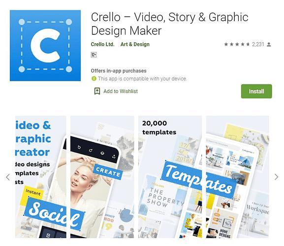 crello mobile app download
