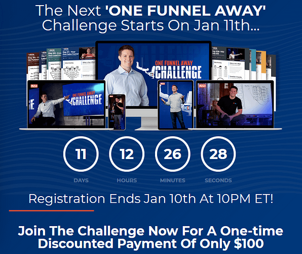one funnel away challenge