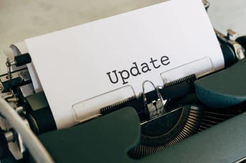 Update your WordPress site content frequently to increase blog SEO