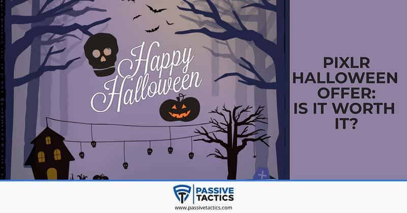 Pixlr Halloween offer