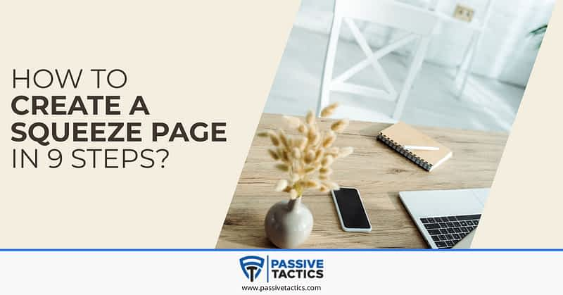 create squeeze page
