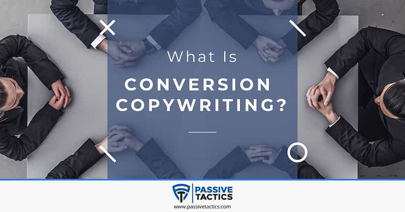What is conversion copywriting