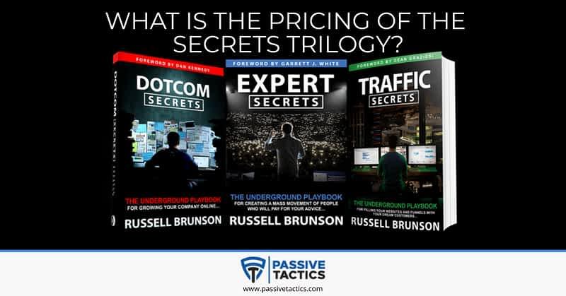 secrets trilogy pricing