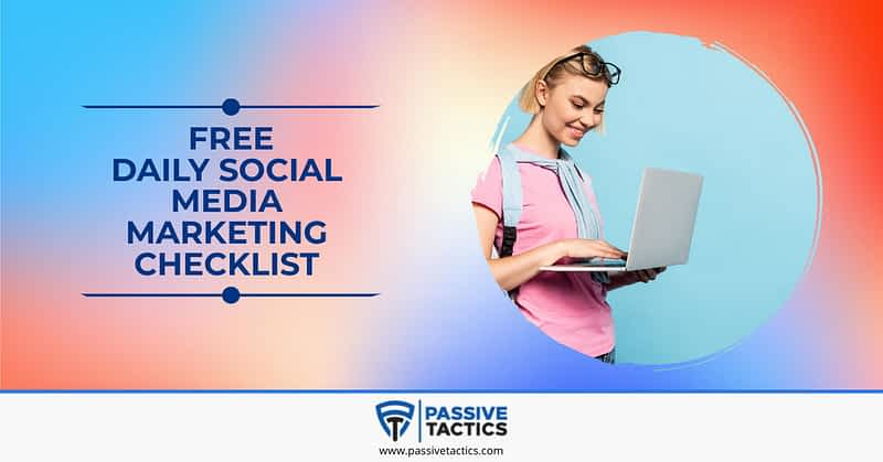Daily Social Media Marketing Checklist