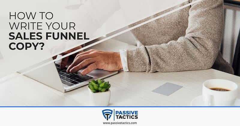 sales copy for funnel