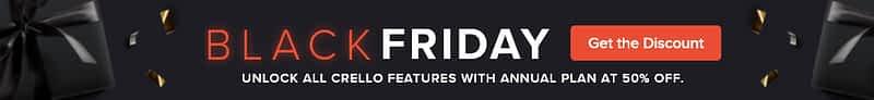 Crello Software Black Friday Deal