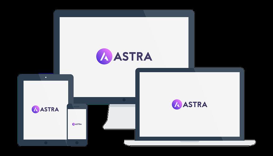 Astra responsive