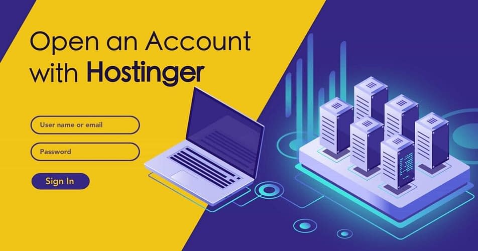 Login to account page