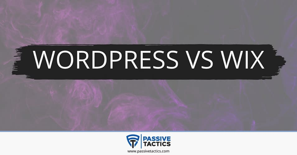 Wordpress vs wix