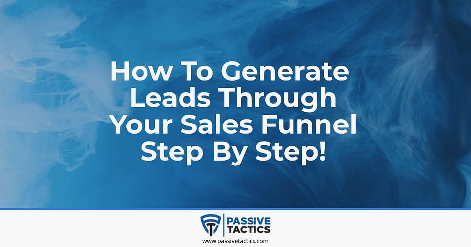 lead generation sales funnel