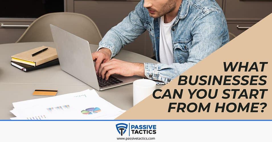 Start an online Business from home