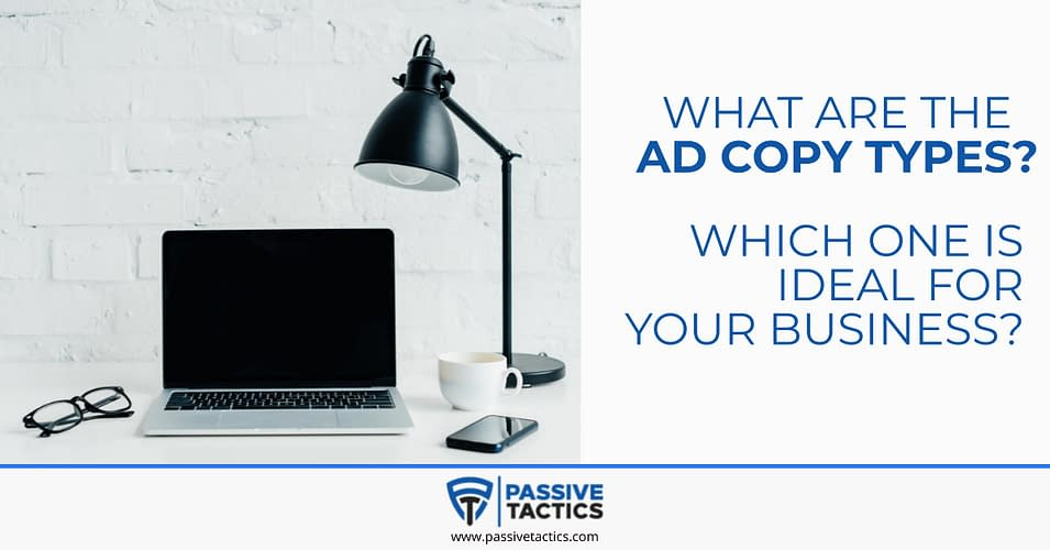 what is ad copy types