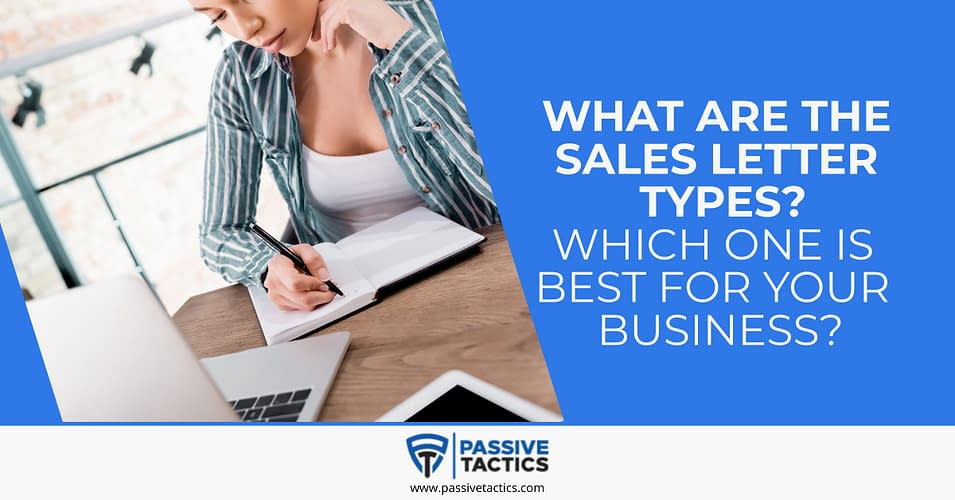 what is a sales letter