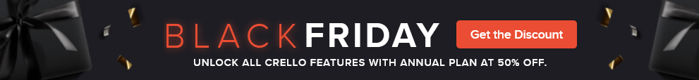 Crello Software Black Friday Deal