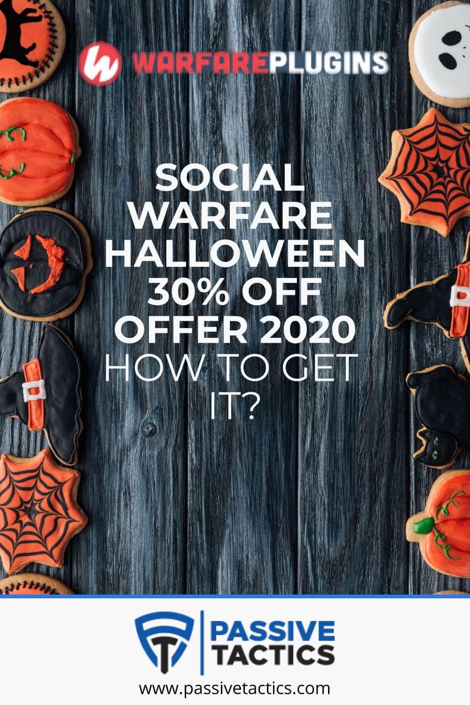Social Warfare: Best Social Sharing Plugin - Halloween Discount