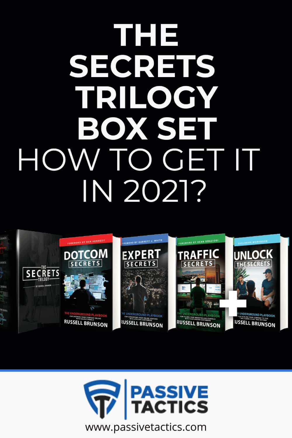 The Secrets Trilogy Box Set: How To Get It In 2021?