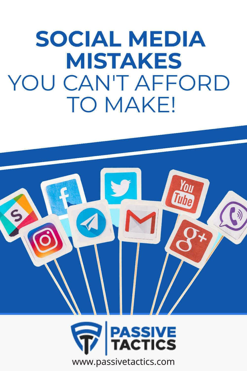 Social Media Mistakes You Can\'t Afford To Make