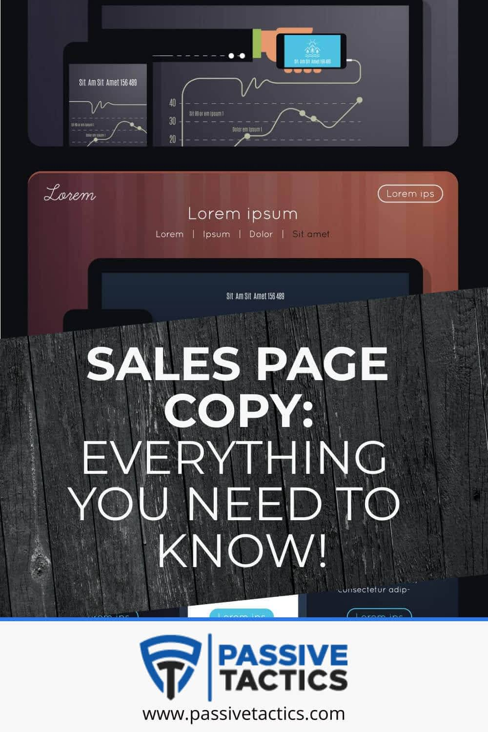Sales Page Copy: Everything You Need To Know!