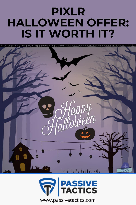 Pixlr Halloween sale with 20% Discount! Premium vs Creative Plan