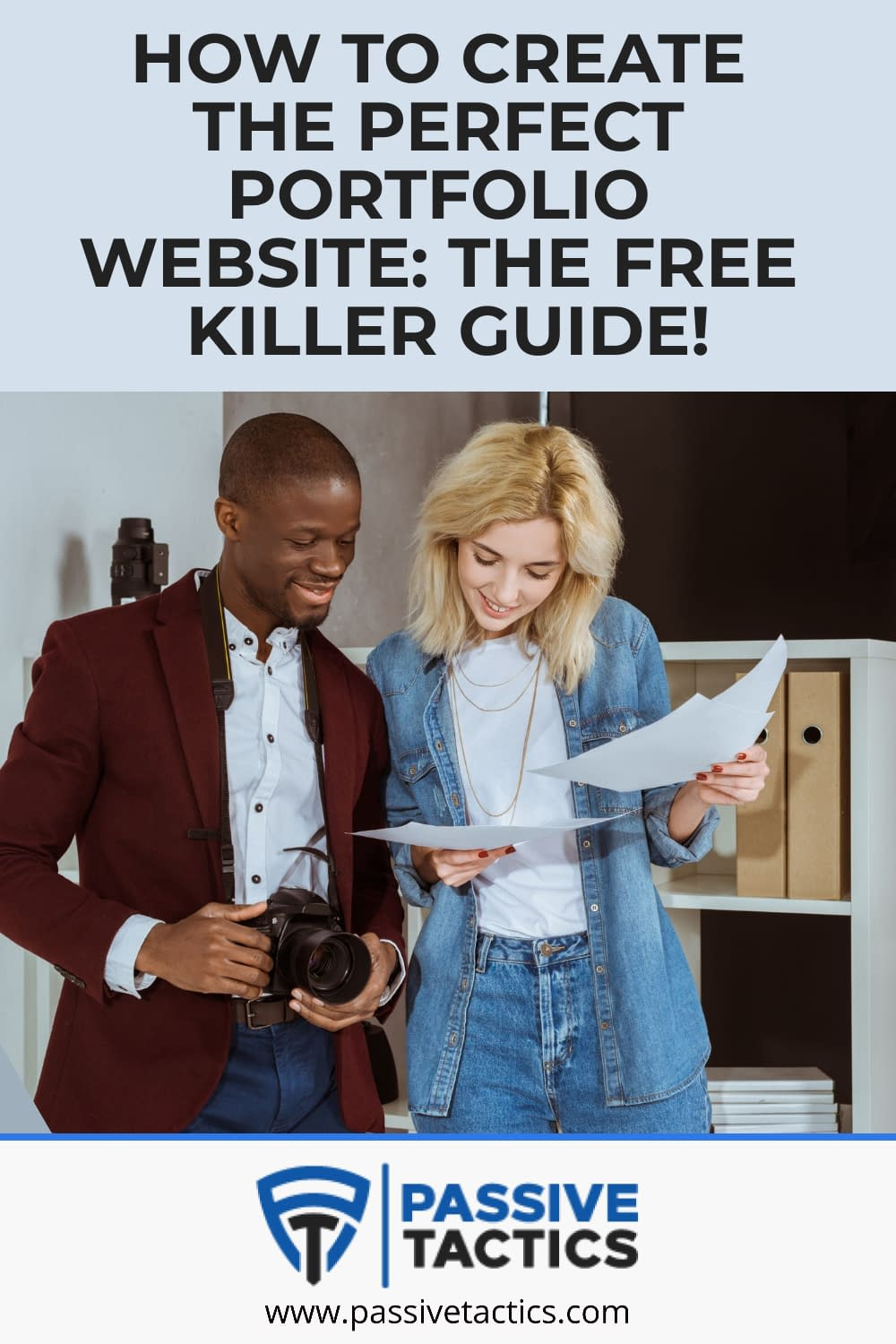 How To Create An Online Portfolio Website: The Free Killer Guide!