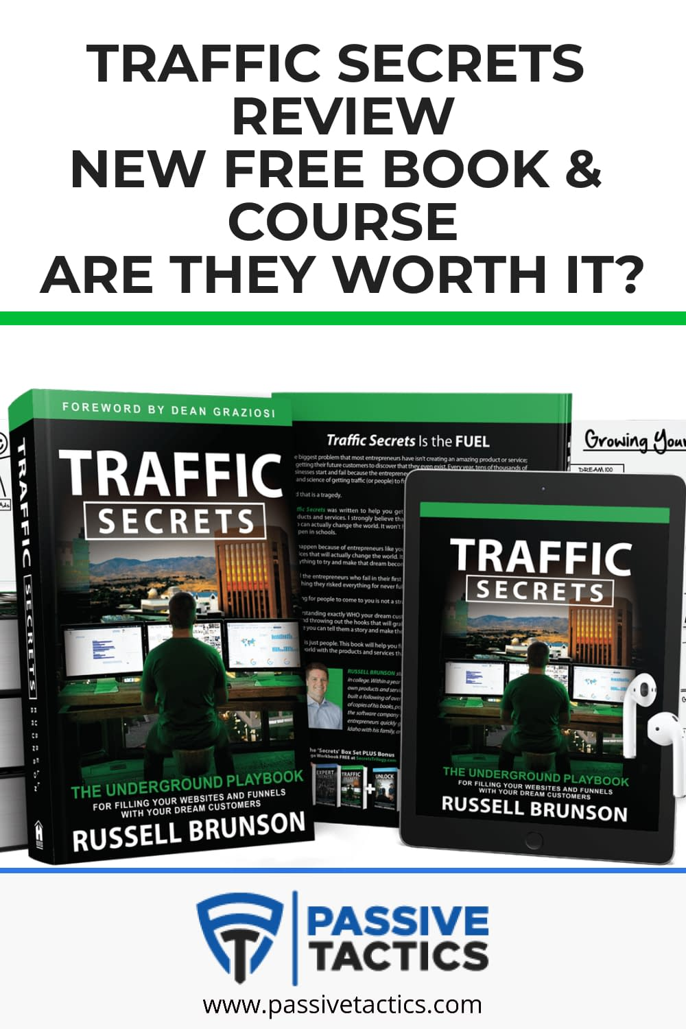 Traffic Secrets Review: New Free Book & Course. Are They Worth It?