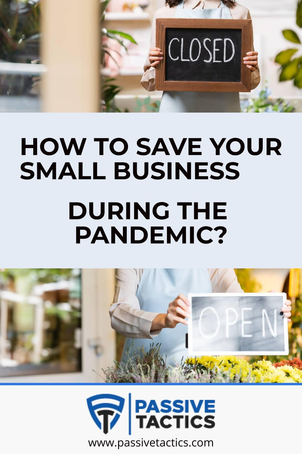 How To Save Your Small Business During The Pandemic